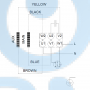 Горизонтальный центробежный насос CM25-1 A-R-I-V-AQQV F-A-A - 97516412