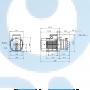 Горизонтальный центробежный насос CM1-2 A-R-A-V-AQQV F-A-A - 97516587