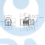 Горизонтальный центробежный насос CM5-6 A-R-A-E-AQQE C-A-A - 97516572
