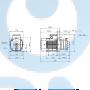 Горизонтальный центробежный насос CM5-8 A-R-A-E-AQQE C-A-A - 97516575