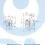 Горизонтальный центробежный насос CM15-4 A-R-A-V-AQQV F-A-A - 97516630