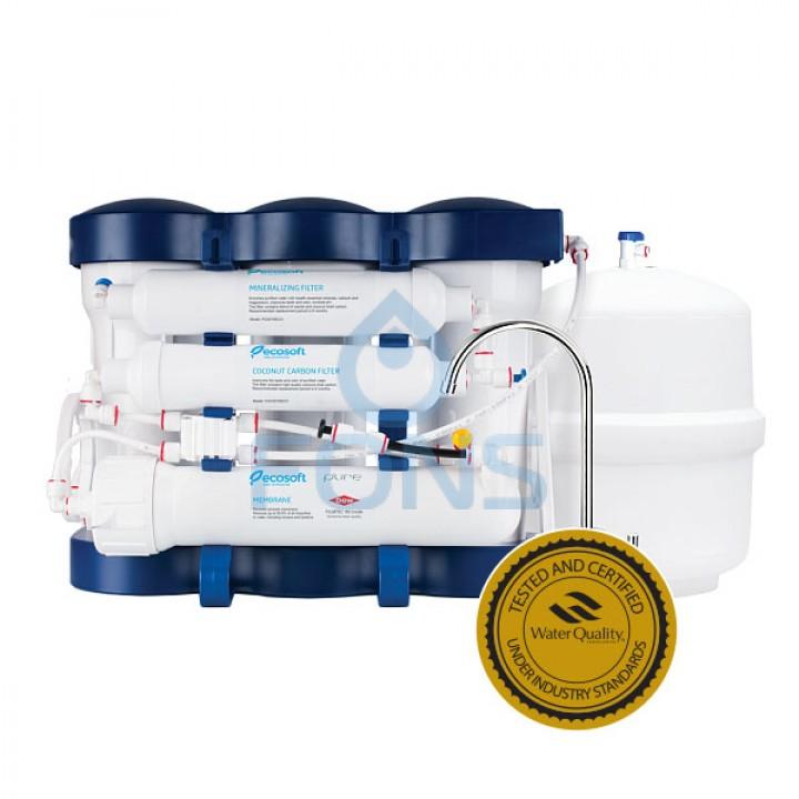 Фильтр обратного осмоса Ecosoft P'URE с минерализатором