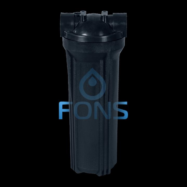 Колба для горячей воды (черная) подключение 1/2 дюйма