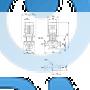 Насос с сухим ротором TP 40-300/2 A-F-A-BAQE-JX1 - 96086914