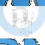 Насос с сухим ротором  TP 100-250/2 A-F-A-BAQE - 96109176