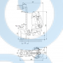 Канализационный насос  SEG.40.09.E.2.50B - 96878506
