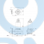 Канализационный насос SEV.80.80.240.2.52H.C.N.51D - 98179845