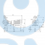 Консольный насос  NK 65-250/223 A2-F-A-E-BAQE - 97830137