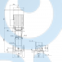 Вертикальный насос CR 45-6-2 A-F-A-E-HQQE - 96122806