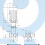 Вертикальный насос CR 45-8 A-F-A-E-HQQV - 96122836