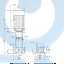 Вертикальный насос CR 45-13-2 A-F-A-E-HQQE - 96122845