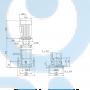 Вертикальный насос CR15-12 A-F-A-E-HQQE 3x40 - 96501902