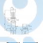 Вертикальный насос CR1-19 A-A-A-E-HQQE 3x230 - 96516190