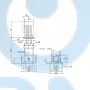 Вертикальный насос CR1-8 A-FGJ-A-E-HQQE 3x23 - 96516245