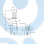 Вертикальный насос CR1-6 A-FGJ-A-V-HQQV 3x23 - 96516264