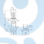 Вертикальный насос CR5-6 A-A-A-V-HQQV 3x230 - 96517007