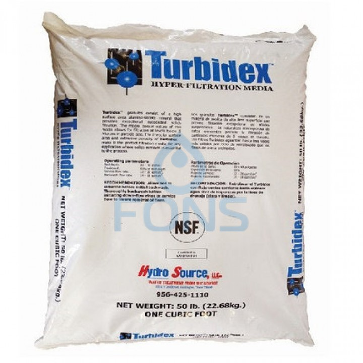 Turbidex (Filter AG+) (28,3L) фильтрующий материал