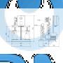 Установка повышения давления Grundfos HYDRO MULTI-S 2 CM3-4I - 91047056
