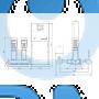 Установка повышения давления Grundfos HYDRO MPC-S 2 CR 64-1 - 95044877