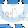 Установка повышения давления Grundfos HYDRO MPC-S 4 CR 64-3-1 - 95044894