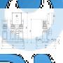 Установка повышения давления Hydro Multi-S P 3CR5-15 3X400/50 DL - 95922795