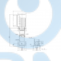Вертикальный многоступенчатый центробежный насос CRE 45-1 A-F-A-E-HQQE - 96123403