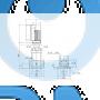 Вертикальный многоступенчатый центробежный насос CRE 5-16 A-FGJ-A-E-HQQE - 96553917