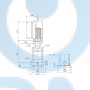 Вертикальный многоступенчатый центробежный насос CRNE 1-4 A-P-A-E-HQQE - 98389435