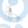 Вертикальный многоступенчатый центробежный насос CRE 5-2 A-FGJ-A-E-HQQE - 98390021