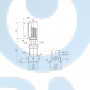 Вертикальный многоступенчатый центробежный насос CRE 10-2 A-A-A-E-HQQE - 98390261