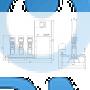 Установка повышения давления Grundfos Hydro MPC-E 3 CRE3-5 50/60Hz RUS - 98423299