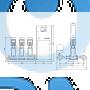 Установка повышения давления Grundfos Hydro MPC-E 3 CRE45-2 50/60Hz RUS - 98439505