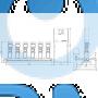 Установка повышения давления Grundfos Hydro MPC-E 6 CRE64-2-2 50/60Hz RUS - 98439533