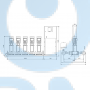 Установка повышения давления Grundfos Hydro MPC-E 5 CRE64-2-1 50/60Hz RUS - 98439536