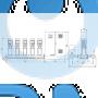 Установка повышения давления Grundfos Hydro MPC-E 5 CR64-3-1 50/60Hz RUS - 98439544
