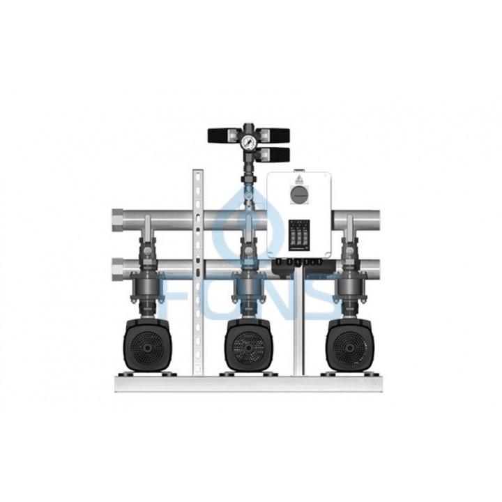 Установка повышения давления Grundfos HYDRO MULTI-S 3 CM10-4I - 91047138