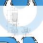 Вертикальный насос CRN 32-12-2 A-F-A-V-HQQV - 96122400