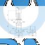 Вертикальный насос CRN 10-1 A-P-A-E-HQQE - 96501040