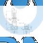Вертикальный насос CRN 3-29 A-FGJ-A-E-HQQE - 96514149