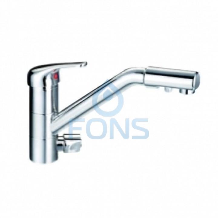 Смеситель DF-090 холодная/горячая вода + кран чистой воды