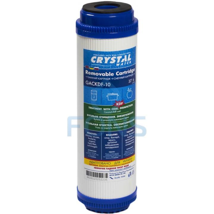 Crystal GACKDF-10 Картридж с гранулированным активированным углём