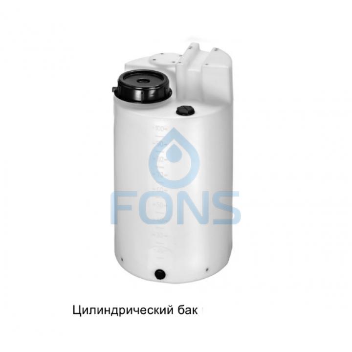Цилиндрический бак 100l PE Grundfos 98150051