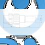 Инжекционный клапан с лепестковым затвором Grundfos 0203-16 PVC/V/C 4U2-2 95730964