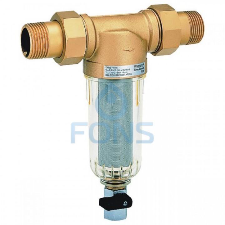 Honeywell MiniPlus FF06-1AA Самопромывной механический фильтр