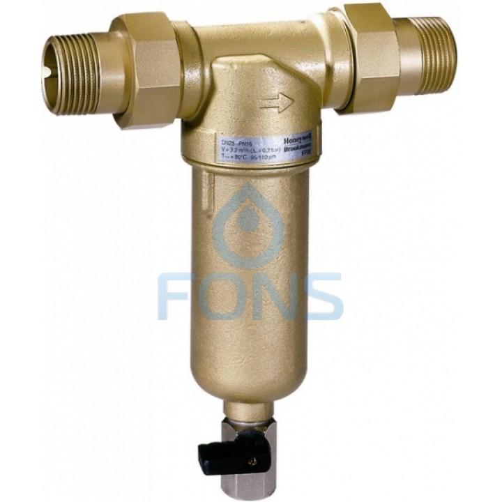 Honeywell MiniPlus FF06-3/4AAM Самопромывной механический фильтр